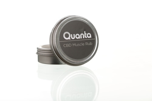 Quanta CBD Muscle Rub Two Pack