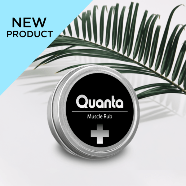 Quanta CBD - New Product Muscle Rub Plus