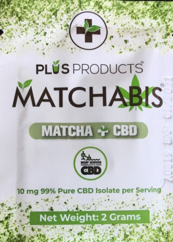 CBD NJ Shop - Matchabis Matcha CBD Tea