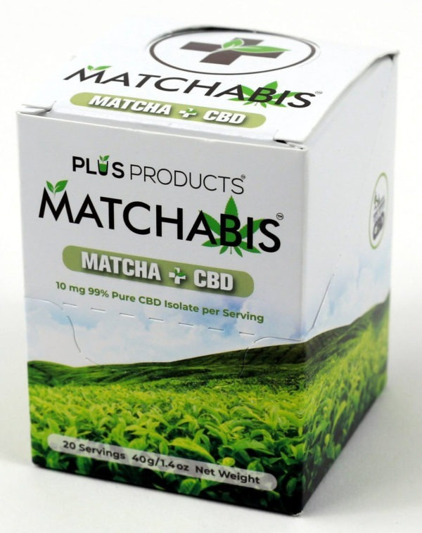 CBD NJ Shop - Matchabis Matcha Tea with CBD Box