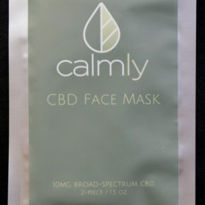 CBD NJ Shop - CalmlyCBD Face Mask