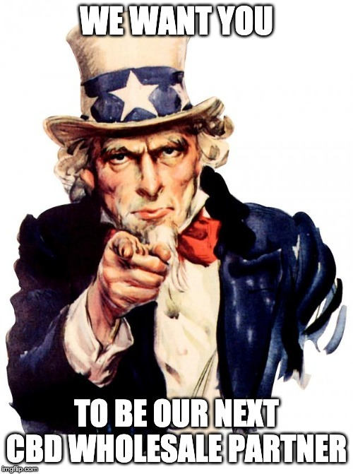 We want you to be our next CBD wholesale partner.