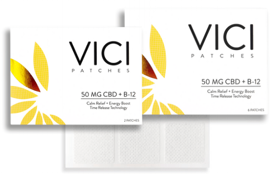CBD NJ Shop - Vici Wellness CBD Patch B12 Energy