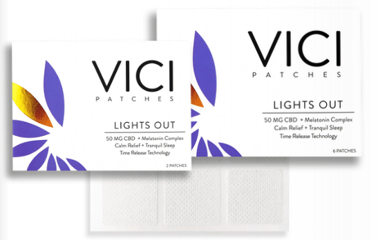 CBD NJ Shop - Vici Wellness CBD Patch Lights Out Formula