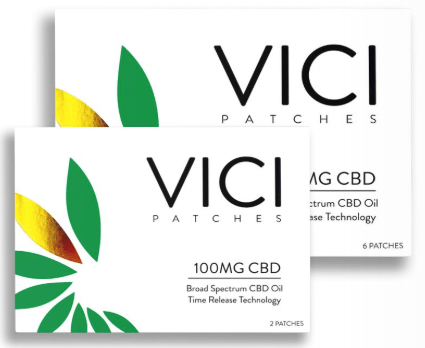 CBD NJ Shop - Vici Wellness CBD Patch